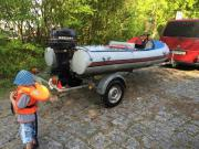 Wiking Komet Schlauchboot