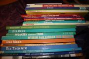 Wissensbücher,Bücherkiste,Büchersammlung,