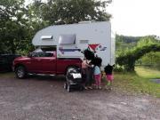 Wohnkabine mit Pickup
