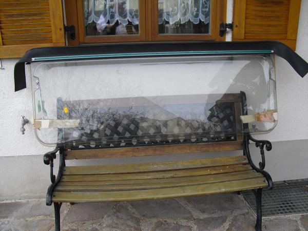 wohnwagen bon bon 163 ausstellscheibe mit doppelverglasung. Black Bedroom Furniture Sets. Home Design Ideas