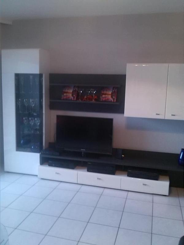 wohnzimmerschrank weiss neu und gebraucht kaufen bei. Black Bedroom Furniture Sets. Home Design Ideas