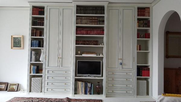 wohnzimmerschrank wei neu und gebraucht kaufen bei. Black Bedroom Furniture Sets. Home Design Ideas