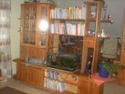 Wohnzimmerschrank Massivholz neuwertig
