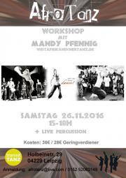 Workshop Afrotanz mit