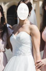 Wunderschönes Prinzessinnen-Brautkleid
