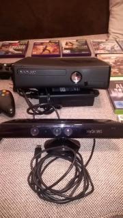 X Box 360 Slim Mit Kinect und Spielen gebraucht kaufen  Götzis