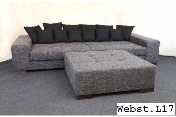 xxl couch megasofa bigsofa polstergarnitur big sofa in l hne polster sessel couch kaufen. Black Bedroom Furniture Sets. Home Design Ideas