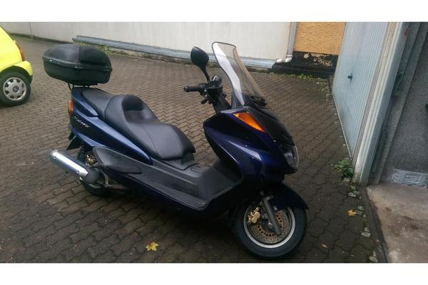 yamaha majesty 250ccm motorroller in forchheim yamaha. Black Bedroom Furniture Sets. Home Design Ideas