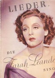 Zarah Leander,Autogramm,