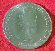 1 Crown 5 Shillings 1965