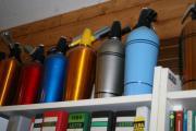 13 Siphonflaschen 40er/