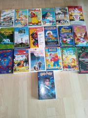19 STÜCK VHS