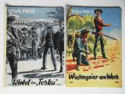 2 Tom Prox Western-Hefte Originale