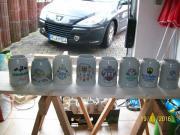 20 Bierkrüge in