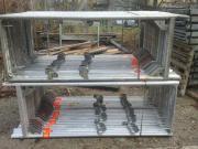 202 m² gebrauchtes Alu Gerüst
