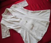 2x Elegante Weiße Bluse 1