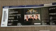2x Sitzplatzkarten U2