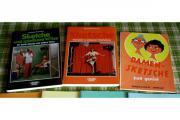 3 Bücher mit Sketschen