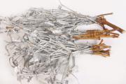 3 Myrtebündel silber-Deko zum Basteln-Brautmyrte