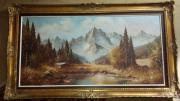 3 Öl-Gemälde