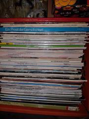 350 Schallplatten und