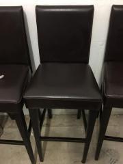 4 Stühle + Hochtisch