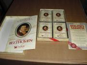 4 van Beethoven Cassetten klassische