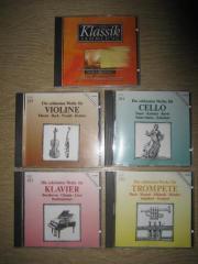5 CD s - Klassik - Sammlung