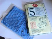 5 Stk. Elektrolux