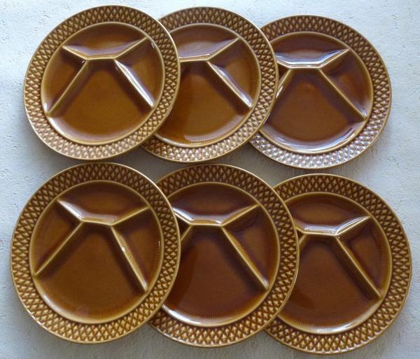 6 Fondue-Teller » Geschirr und Besteck