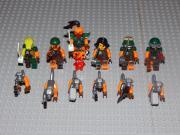 6 Minifiguren Ninjago