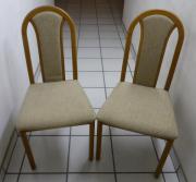 6 Stück Esszimmerstühle aus Eiche