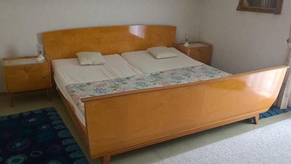 60er jahre vintage schlafzimmer in poppenhausen schr nke for Bett 60er jahre