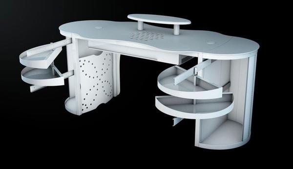 aerotisch nageltisch mit absaugung zum verkauf in. Black Bedroom Furniture Sets. Home Design Ideas