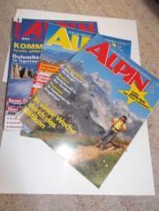 ALPIN-Magazin Ausgaben