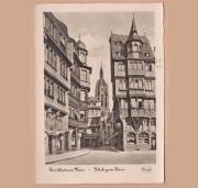 Alte Ansichtskarte von Frankfurt am
