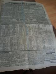 Alte Zeitungs Auschnitte