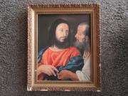 altes christliches Ölbild