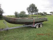Altes Fischerboot mit