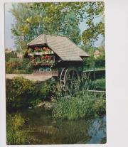 Ansichtskarte Schwarzwald-Mühle bei Rötenbach