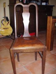 Antike Eichenstühle ca.