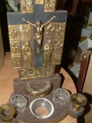 Antike Rarität Hochwertiger Reise - Altar