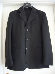 Anzug schwarz Gr 170
