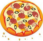 Aushilfe für Pizza