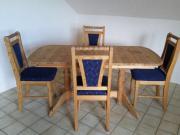Ausziehbarer Echtholz Tisch