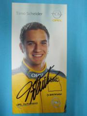 Autogramm - Karten - Opel - OPC Team -