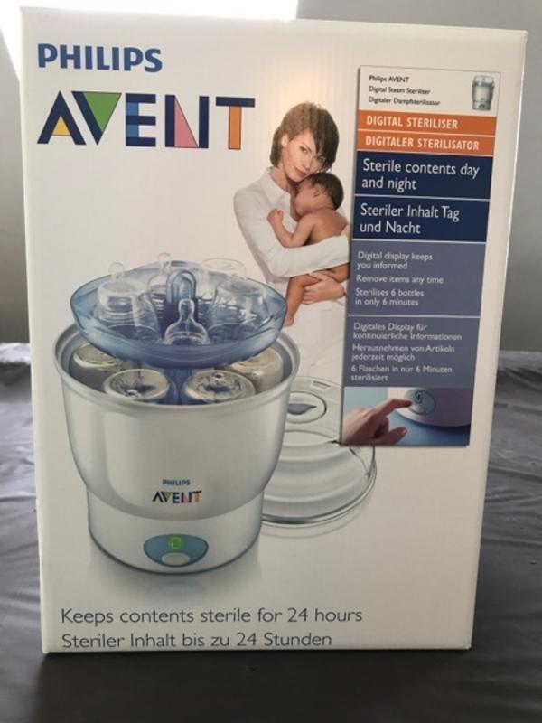Avent Digitaler Sterilisator - Heppenheim - Avent, digitaler Dampfsterilisator, optimal für Avent Zubehör. - Heppenheim