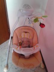 Babyschaukel in beige