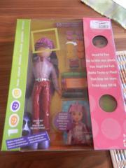 Barbie zum Schminken mit Zubehör