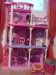 barbiehaus barbie kinder baby spielzeug g nstige. Black Bedroom Furniture Sets. Home Design Ideas